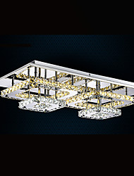 LED Ceiling Lights Pendant Lighting Chandelier Lamps Fixtures with Clear or Amber K9 Crystal for Indoor Home CE UL