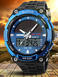 SKMEI® New Energy Solar Multifunction Sports Watch