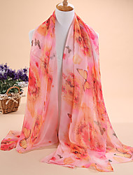 The new hot tide ms Daisy butterfly 30 d chiffon scarf long scarf shawl