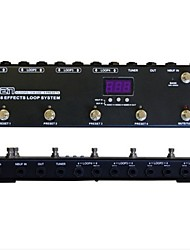 모엔 gec438 페달 스위처 기타 효과 라우팅 시스템 루퍼
