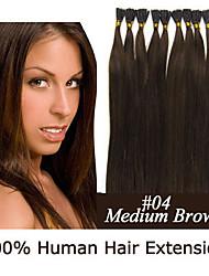 3 установить 24-дюймовые кератин палки наконечник / я чаевые 0,5 г / S Малайзии расширения человеческих волос 9 цветов для женщин красота