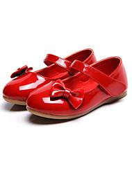 Flache Schuhe-Outddor Kleid Lässig-Kunstleder-Flacher Absatz-Komfort Light Up Schuhe-Schwarz Rosa Rot Weiß