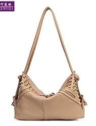 AIKEWEILI®Women's Handbag Fashion Vintage Rivet Shoulder Bag Korean Style Casual Hopo Cross Body Bag