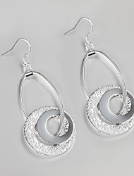 S925 Silver Drop Earring Design for Women Bead Drop Design Earring Fashion Fine Accessories