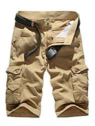 Summer overalls man pants pocket thin pants pants