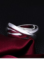 WEEN  Ladies 925 sterling silver jewelry with creative personality three ring