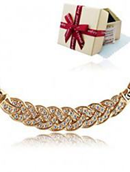 Austrian import crystal pendant diamond necklace Joker sautoir female model