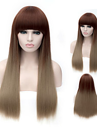 Europe and The Model of High Product Quality Is The Young Girl Will Prepare Wig