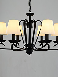 Stylish Chandelier with 6 Lights in Antique Style