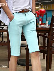 5 uomini cinque pantaloni slim s bicchierini casuali in estate estate pantaloni degli uomini diritti tendenza sottile