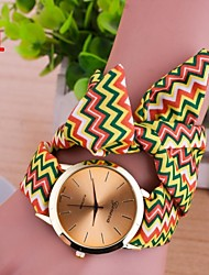Dress Quarz Fashion Fabric Wristwatche Ladies/Girls Gift Womens Watches Bracelet Feminino  New Bran 3Colors