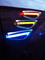 modernes direction ailes feu latéral automobiles lumières latérales de voiture conduit de lumière 2pcs clignotants marqueur
