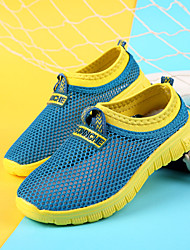 Zapatos de Deporte (Azul/Negro) - Punta Redonda/Punta Cerrada - Tul