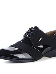der britischen Art der Männer beiläufige lederne Schuhe spitze Zehe Lederschuhe eu 39-43