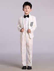 Green Cotton/Satin Ring Bearer Suit - 4 Pieces