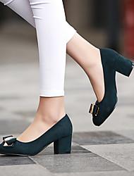 Women's Shoes  Kitten Heel Heels/Pointed Toe Pumps/Heels Office & Career/Dress Black/Green/Purple/Red
