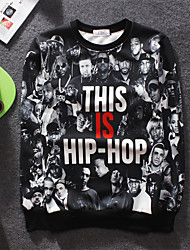 Men's High Quality Creative Natural Pattern Stereo Simple Leisure Fashion Personality 3D Sweater——HIP-HOP