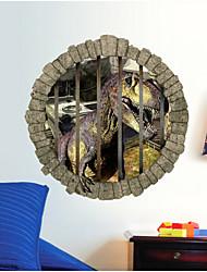 2015 novos fãs de cinema parque de dinossauros jurássicos artes do mural da parede de adesivos