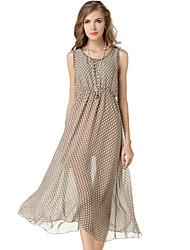Women's Vintage Casual Sleeveless Dress