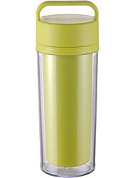 iinmei 300ml/Covenient/Double Wall/Handled/BPA Free/Travel Tumbler/Riding Tumbler/Water Bottle