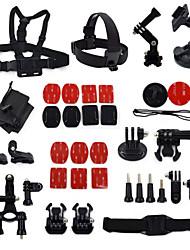 35-em-1 kit de acessórios para gopro hero4 3 + / 3/2/1 camera ourspop k16 gp-