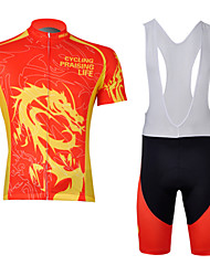 Outdoor Sport Cycling Short Sleeve Clothing Bicycle Sports Cycling Bib Set