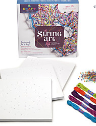 Eruner® Christmas Gifts CRAFT TASTIC Series String Art Kit DIY Manual Winding Wallpapers