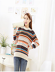 Medium - Langarm - Pullover - Baumwolle/Strickware )