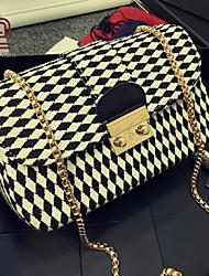 handcee® elegancia venta bolsa de las mujeres del patrón del hombro caliente con la cadena