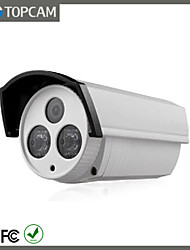 TOPCAM 2.0Megapixel Surveillance Camera IR Outdoor Waterproof 2pcs Array Lens IP Camera