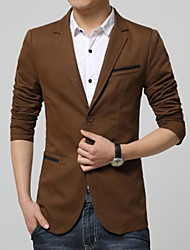 Men's Casual Formal Long Sleeve Regular Blazer