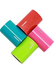 deboch® X5000 Германия цилиндрический пластиковый банк силы 5000mA