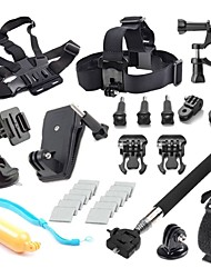 Accessories For GoProSmooth Frame / Lens Cap / Monopod / Tripod / Screw / Suction Cup / Straps / Clip / Hand Grips/Finger Grooves /