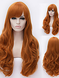 European And American High-Quality High-Temperature Wire Hair Natural Hair Wig Fashion Girl Necessary
