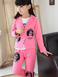 Girl's Autumn Korean Version Of The Three-Piece Clothing Set