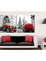 Prints Poster Car Home Modern Painting Wall Pictures Print On Canvas  4pcs/set (Without Frame)