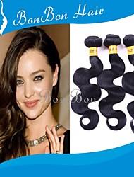 """8 """"cheveux vierges vague naturelle brésilienne"""