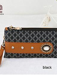 Handcee® Hot and New Fashion Woman PU Pattern Wristlets Bag