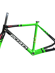 "RB-NT211+FK-NT211 Green Painted Neasty Logo Disc Brake Full Carbon Fiber Frame and Fork 1-1/8""+1-1/2"" 51/55/57cm"