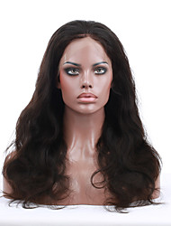 2015 Top Selling 8''-24'' Popular Wave Virgin Indian Human Hair Wigs Lace Front Wigs With Baby Hair For Black Women