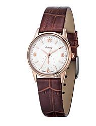 Women's Watch Japan Original Movement Ultra-thin Dial Design Genuine Leather Strap Luxury Brand Watches
