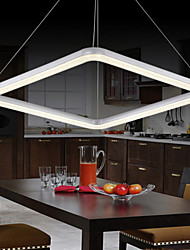 Ecolight® Pendant Lights LED Modern/Contemporary Living Room/Bedroom/Dining Room/Kitchen/Study Room/Office/Aluminum