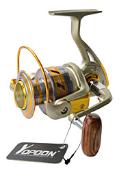 EF2000 Japan Technology Fishing Reels Quality 5.5:1 Carp Wheel Fish Reel 10 Balls Bearing+1 Roller Bearing