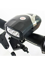 Front Bike Light,3-LED Bicycle Front Lights with Bell,Safety