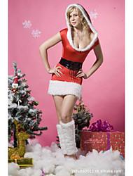 - Santa Anzüge - für Frau - N/A - mit Kleid/Ohrring