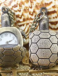 Masculino / Mulheres / Unissex Relógio de Bolso / Colar com Relógio Quartz Lega Banda Bronze marca-
