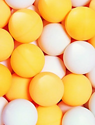 (50pcs/pack) 3-star 40mm Standard Table Tennis Balls Pingpong Ball orange/white color
