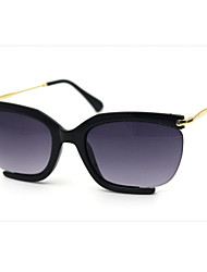 Sunglasses Women's Modern / Fashion Flyer Black / Coffee / Red / Leopard Sunglasses Half-Rim