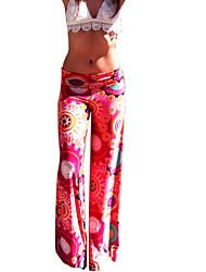Tynn  -  Mikroelastisk  -  Løs  -  Kvinners bukser ( Bomull )