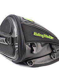 Riding Tribe Multifunctional Motorcycle Tail Bag / Handbag / Backpack Outdoor Sports Travel (Black)